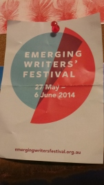 A well-thumbed brochure from the EWF 2014 in Victoria, Australia